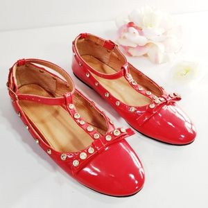 Other - Versace 19.69 Italia Balentine Red Bow Flats